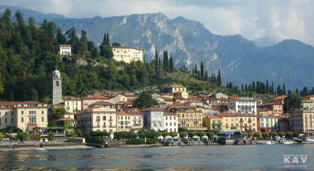 Bellagio on Lake Como, Italy