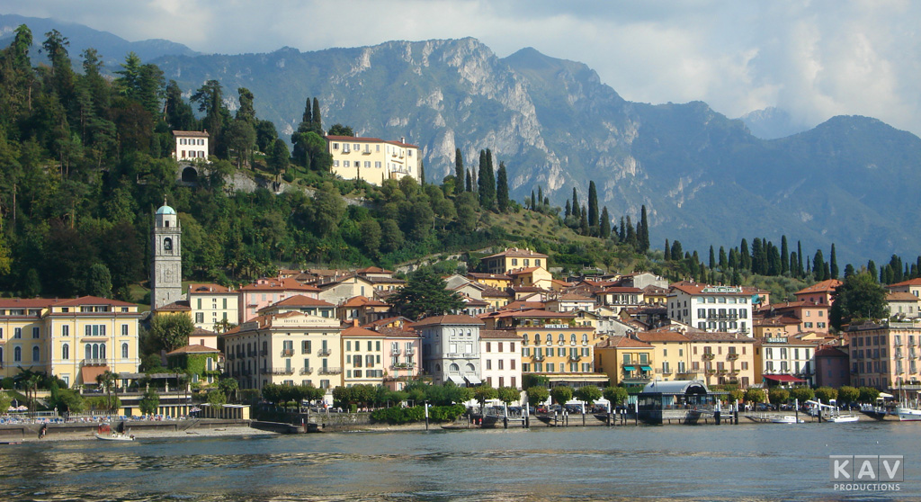 Bellagio on Lake Como, Italy