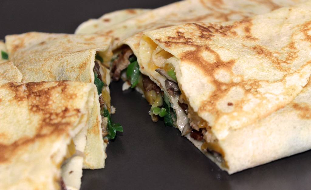 Crepes Recipe Savory Cheese