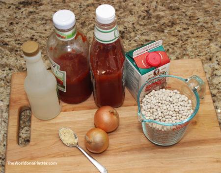 Baked Bean Ingredients