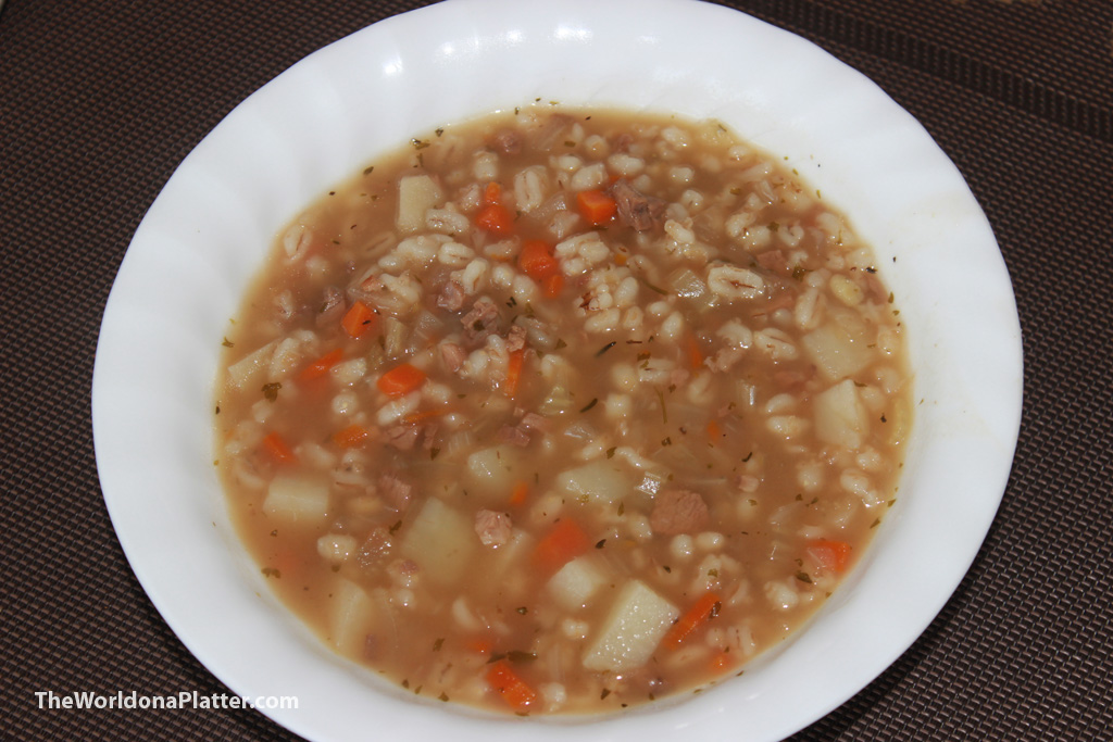Lamb And Barley Scotch Broth The World On A Platter
