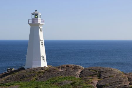 Cape Spear, Newfoundland, Canada.