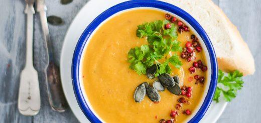 Squash & Sweet Potato Soup