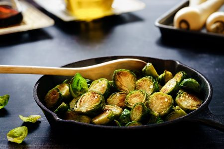 Butter-Braised Brussels Sprouts