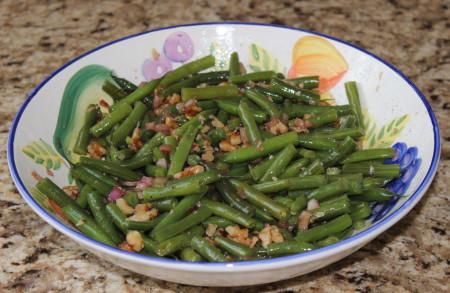grenoble green bean salad