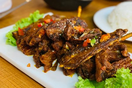 Chinese Garlic Ribs