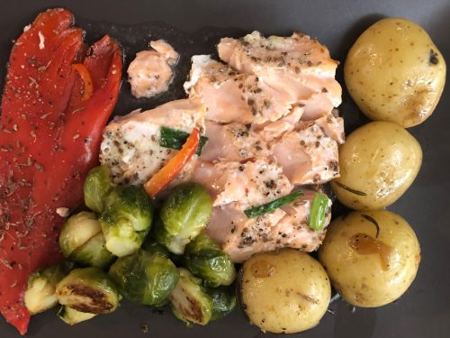 Salmon with Pernod