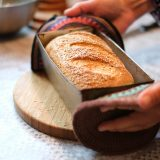 bread in pan