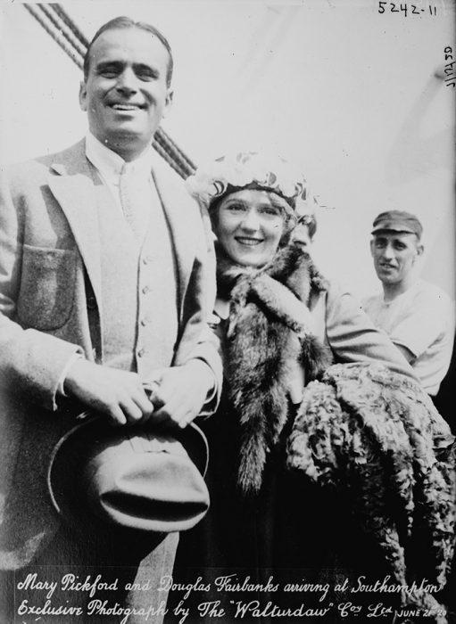 Mary Pickford and Douglas Fairbank