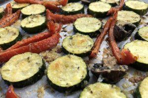 Baked Zucchini Medley